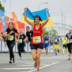 The 26th Lattelecom Riga Marathon - Yevheniia Vyazovchenko (5043)