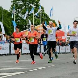 The 26th Lattelecom Riga Marathon - Kristīne Hartmane (5493), Renāte Rācenāja (5903)