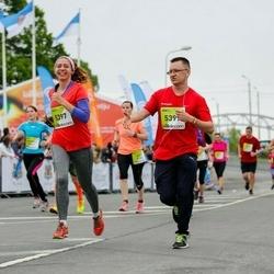 The 26th Lattelecom Riga Marathon - Baiba Zīberga (5397), Ēriks Sarguns (5399)