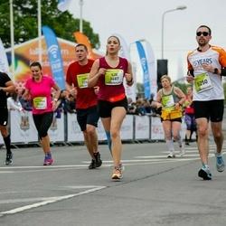 The 26th Lattelecom Riga Marathon - Ilze Lāce (3687), Andrejs Morozovs (5250)