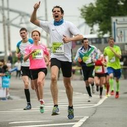 The 26th Lattelecom Riga Marathon - Edgars Jansons (5385), Markus Breithut (6271), Anna Zotova (6480)
