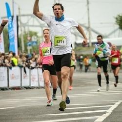 The 26th Lattelecom Riga Marathon - Markus Breithut (6271), Anna Zotova (6480)