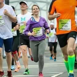 The 26th Lattelecom Riga Marathon - Agne Mazeikyte (4041)