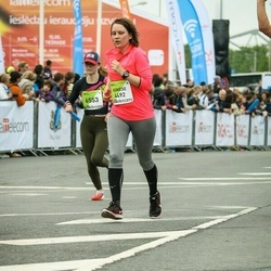 The 26th Lattelecom Riga Marathon - Agnese Zardina (4492), Veera Grafskaja (6553)