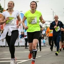 The 26th Lattelecom Riga Marathon - Gunda Kleinberga-Karsa (3118), Annela Pajumets (4289)