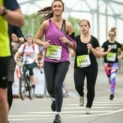 The 26th Lattelecom Riga Marathon - Aļona Borisova (4421), Aija Beitika (6462)