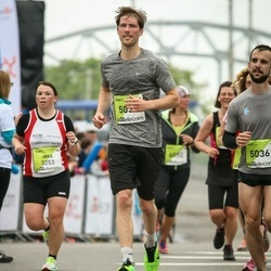 The 26th Lattelecom Riga Marathon - Michaël Verdonck (5035), Angelos Theodorakopoulos (5036)