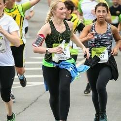The 26th Lattelecom Riga Marathon - Aigars Bergs (2821), Sanita Sirmā (3074)