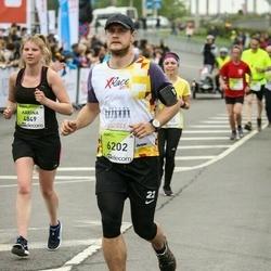 The 26th Lattelecom Riga Marathon - Karīna Starostina (4849), Ēriks Lebedoks (6202)