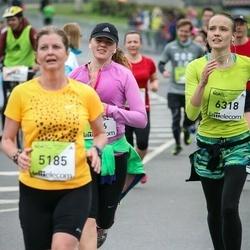 The 26th Lattelecom Riga Marathon - Gabriela Karelova (5185), Arita Celma (6318)