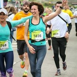 The 26th Lattelecom Riga Marathon - Laura Lapiņa (5768), Jūlija Vaišļa (5835)