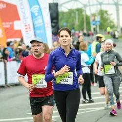 The 26th Lattelecom Riga Marathon - Askolds Cirsis (3468), Emilie Troy Troy (4536)