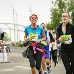 The 26th Lattelecom Riga Marathon - Alexandra Christine Nessmann (3065), Darja Konina (5636), Šarūnas Venslavas (6376)