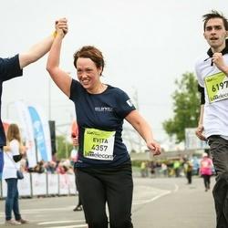 The 26th Lattelecom Riga Marathon - Arta Baltmane (3368), Evita Zoltnere (4357), Sergejs Bogdanovs (6197)