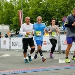 The 26th Lattelecom Riga Marathon - Ori Monheit (5110), Rafi Cohen (5111)