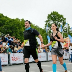 The 26th Lattelecom Riga Marathon - Pietro Della Briotta Parolo (2912), Maarit Aalto (4599)