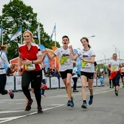 The 26th Lattelecom Riga Marathon - Till Iseken (4124), Lisa Bogacki (4146), Daiga Kalniņa-Vīndedzkalna (6185)