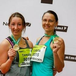 The 26th Lattelecom Riga Marathon - Ligita Leitlande (5015), Tamara Bičkova (5018)