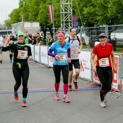 The 26th Lattelecom Riga Marathon - Tiina Säälik (686), Maili Antons (739), Tiia Riis (752)