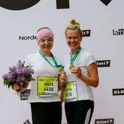 The 26th Lattelecom Riga Marathon - Lolita Jekabsone Metele (3815), Inese Uskure (4658)