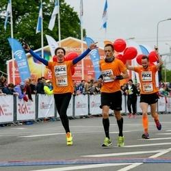 The 26th Lattelecom Riga Marathon - Uldis Kļaviņš (1574), Reinis Tops (1576)