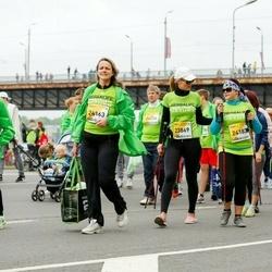 The 26th Lattelecom Riga Marathon - Ilona Sergejeva (23869), Maija Fjodorova (24163), Jolanta Egle (24173), Andra Circene (24253)
