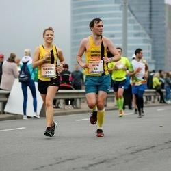 The 26th Lattelecom Riga Marathon - Ryan Nokes (66), Nia Rose Nokes (604)