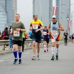 The 26th Lattelecom Riga Marathon - Goetz Von Thadden (285), Jean Claude Elvira Martin (535), Rauno Liebenau (1634)