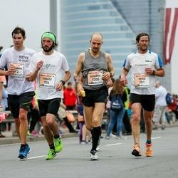 The 26th Lattelecom Riga Marathon - Miika Mäntyniemi (281), Anne Mäntyniemi (282), Tomasz Mlost (336), Romāns Kuļikovs (1205)