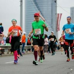 The 26th Lattelecom Riga Marathon - Tiina Perälä (397), Varis Grants (557), Angelica Löfqvist (623), Mateusz Siemaszko (1051)