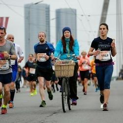The 26th Lattelecom Riga Marathon - Edgars Melkins (1156), Kristīne Ozola (1949)