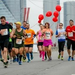 The 26th Lattelecom Riga Marathon - Petras Vansevičius (969), Dzintars Dūdiņš (1413), Dace Veipa (1589), Aigars Gedroics (1794)
