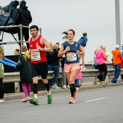 The 26th Lattelecom Riga Marathon - Lorenzo Franchi (1386), Lelde Broka (1501)