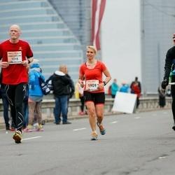 The 26th Lattelecom Riga Marathon - Frode Korslund Johansen (1215), Ieva Pūce (1909)