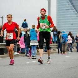 The 26th Lattelecom Riga Marathon - Charlotte Poulsen (603), Ģirts Vēsma (882)