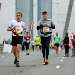 The 26th Lattelecom Riga Marathon - Mihhail Korasteljov (576), Roberts Rozis (1262)
