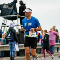 The 26th Lattelecom Riga Marathon - Armen Arutyunyan (1445)