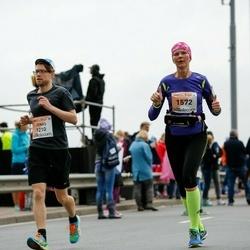 The 26th Lattelecom Riga Marathon - Jonas Brönmark (1210), Santa Roze (1572)