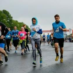 The 26th Lattelecom Riga Marathon - Indars Aščuks (12470), Nikolai Tsygankov (14033), Lāsma Auguste Stabulniece (18153)