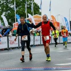 The 26th Lattelecom Riga Marathon - Finn Danielsen (222), Martin Danielsen (225)