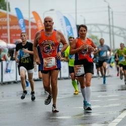 The 26th Lattelecom Riga Marathon - Linda Major (610), David Major (611)