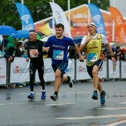 The 26th Lattelecom Riga Marathon - Andrejs Soboļevs (11552), Guntars Straume (14210)
