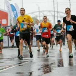 The 26th Lattelecom Riga Marathon - Kalvis Kūms (8218), Imants Borovikovs (11541)