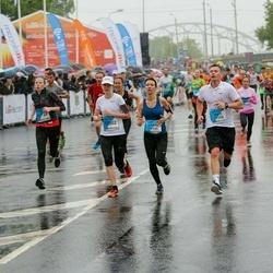The 26th Lattelecom Riga Marathon - Sandra Platā (11119), Gints Kacuba (11193), Baiba Stepe (12302)