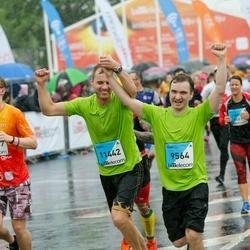 The 26th Lattelecom Riga Marathon - Kaspars Jansons (9564), Mārtiņš Bārda (11442)