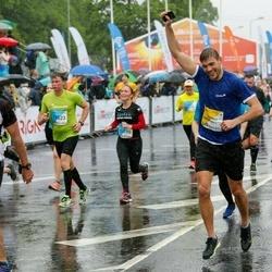 The 26th Lattelecom Riga Marathon - Pavel Kocman (364), Igors Savko (11523), Jana Mille (13595)