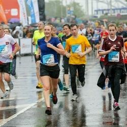 The 26th Lattelecom Riga Marathon - Niks Mazvērsītis (8944), Aldis Lipskis (8967), Lauma Astiča (9161), Laima Magure (12386)
