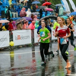 The 26th Lattelecom Riga Marathon - Māra Šlikaite (9868), Elīna Miezīte (10284)