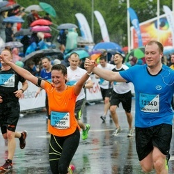 The 26th Lattelecom Riga Marathon - Svetlana Makņa (10995), Arturs Makņa (12340)
