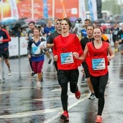 The 26th Lattelecom Riga Marathon - Eduards Bajārs (10485), Viktorija Putniņ (10508)